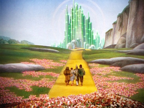 yellow brick road.
